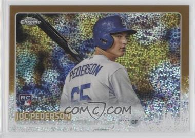 2015 Topps Chrome Update - Mega Box [Base] - Gold #US376 - Joc Pederson /250