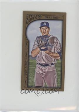 2015 Topps Gypsy Queen - [Base] - Minis Gold #278 - Nathan Eovaldi /99