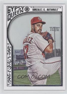 2015 Topps Gypsy Queen - [Base] - White Framed #76 - Gio Gonzalez