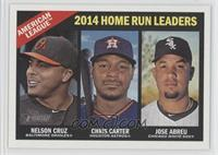 Chris Carter, Jose Abreu, Nelson Cruz