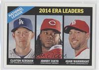Johnny Cueto, Adam Wainwright, Clayton Kershaw