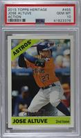 Jose Altuve (Action Image Variation) [PSA 10 GEM MT]