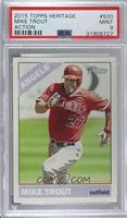 Mike Trout (Action Image Variation) [PSA 9 MINT]