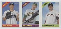 Jake McGee, Jed Lowrie, Nathan Eovaldi