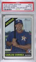 Carlos Correa (Color Swap) [PSA 10 GEM MT]