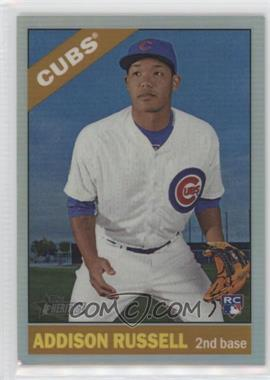 2015 Topps Heritage High Number - Chrome - Refractor #718 - Addison Russell /566