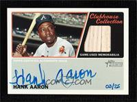 Hank Aaron #/25