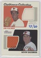 Jim Palmer, Kevin Gausman #58/66
