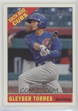 2015 Topps Heritage Minor League Edition - [Base] #112 - Gleyber Torres