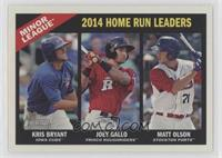 Joey Gallo, Matt Olson, Kris Bryant