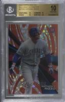 Anthony Rizzo [BGS 10 PRISTINE] #/5
