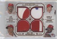 Cole Hamels, Chase Utley, Cliff Lee, Ryan Howard /75
