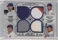 Jacob deGrom, Matt Harvey, Zack Wheeler, Travis d'Arnaud #/99