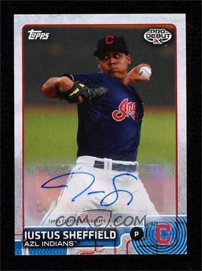 2015 Topps Pro Debut - [Base] - Autographs [Autographed] #186 - Justus Sheffield