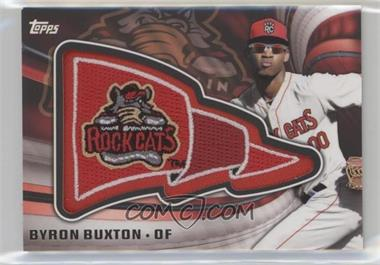 2015 Topps Pro Debut - Pennant Manufactured Patches #PP-BB - Byron Buxton
