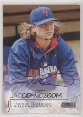 2015 Topps Stadium Club - Autographs #SCA-JDM - Jacob deGrom