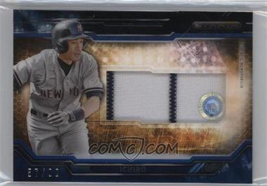 2015 Topps Strata - Clearly Authentic Relics - Blue #CARC-IC - Ichiro /99