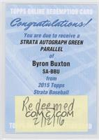 Byron Buxton [Being Redeemed] #/50