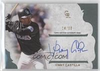 Vinny Castilla #/50