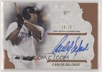 Carlos Delgado #/25