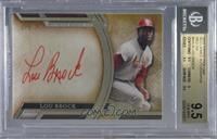 Lou Brock [BGS 9.5 GEM MINT] #/5
