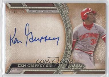 2015 Topps Tier One - Acclaimed Autographs #AA-KGS - Ken Griffey Sr. /299