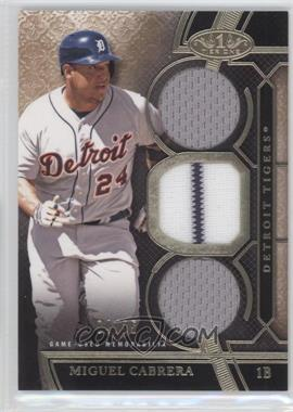 2015 Topps Tier One - Relics - Triple Swatch #TOR-MC - Miguel Cabrera /25