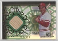 Johnny Bench #/150