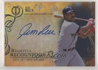 Jim Rice #/50
