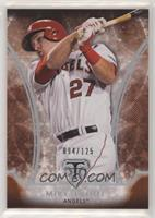 Mike Trout #/125
