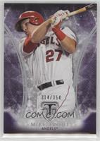 Mike Trout /354