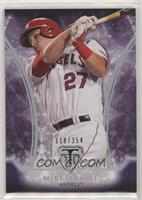 Mike Trout #/354