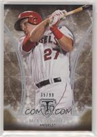 Mike Trout #35/99