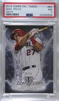 Mike Trout /50 [PSA 7 NM]