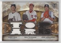 Chris Sale, Jose Fernandez, Max Scherzer /27