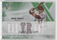 Mike Trout #/18
