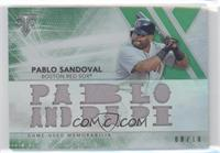 Pablo Sandoval [Noted] #/18