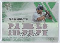 Pablo Sandoval #/18