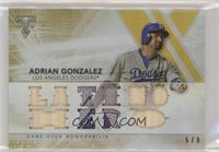 Adrian Gonzalez /9 [EX to NM]