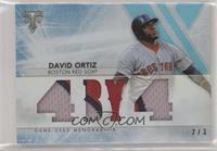 David Ortiz #/3