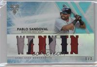 Pablo Sandoval #/3