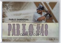 Pablo Sandoval #/27