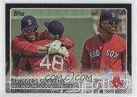 Sluggers Supreme (Red Sox Retool with Bats) #/64