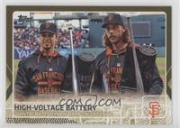 High Voltage Battery - Buster Posey, Madison Bumgarner /2015