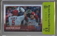 Home Run Halos (Angels On Wing With Power Pair) [BRCR 9.5]