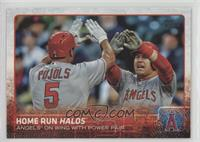 Home Run Halos (Angels On Wing With Power Pair)