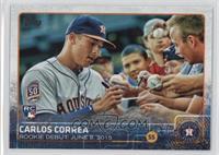 Rookie Debut - Carlos Correa