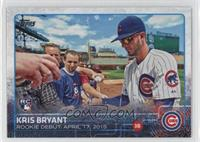 Rookie Debut - Kris Bryant