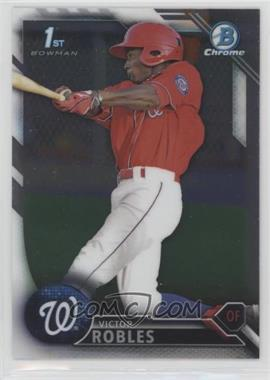 2016 Bowman - Chrome Prospects #BCP10 - Victor Robles