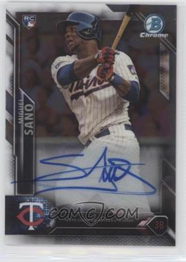 2016 Bowman - Chrome Rookie Autographs #CRA-MS - Miguel Sano